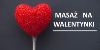 Masaż na Walentynki